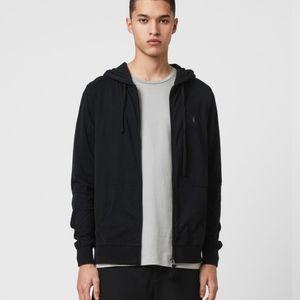 ALL SAINTS black Brace Hoodie Size Medium